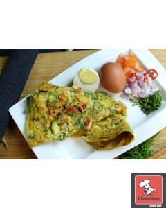 Egg Omelet Indian Style