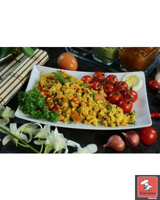 Egg Bhurji a traditional Punjabi quickie