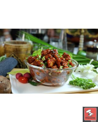 Chicken Manchurian( Indo-Chinese fusion ) DRY